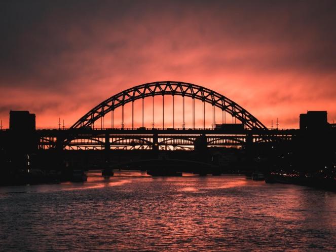 tyne-bridge-silhouette-sunset